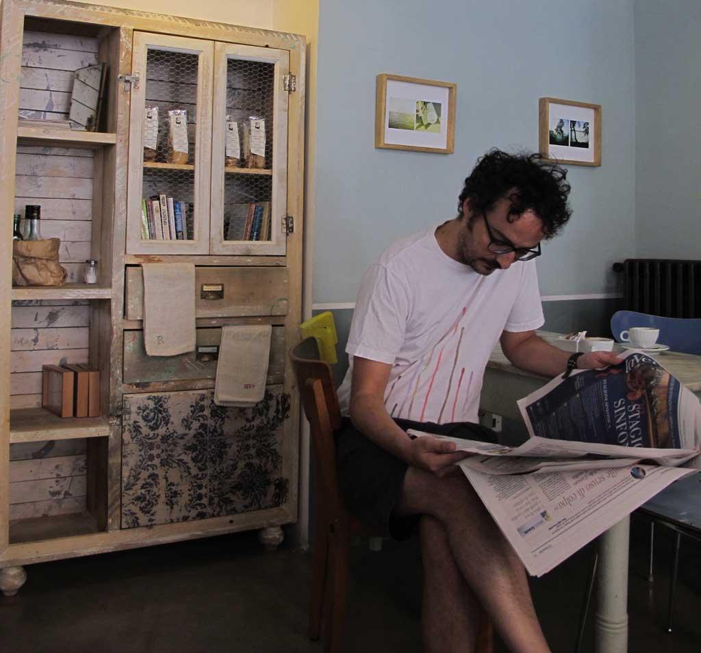colazione pave pausa giornale