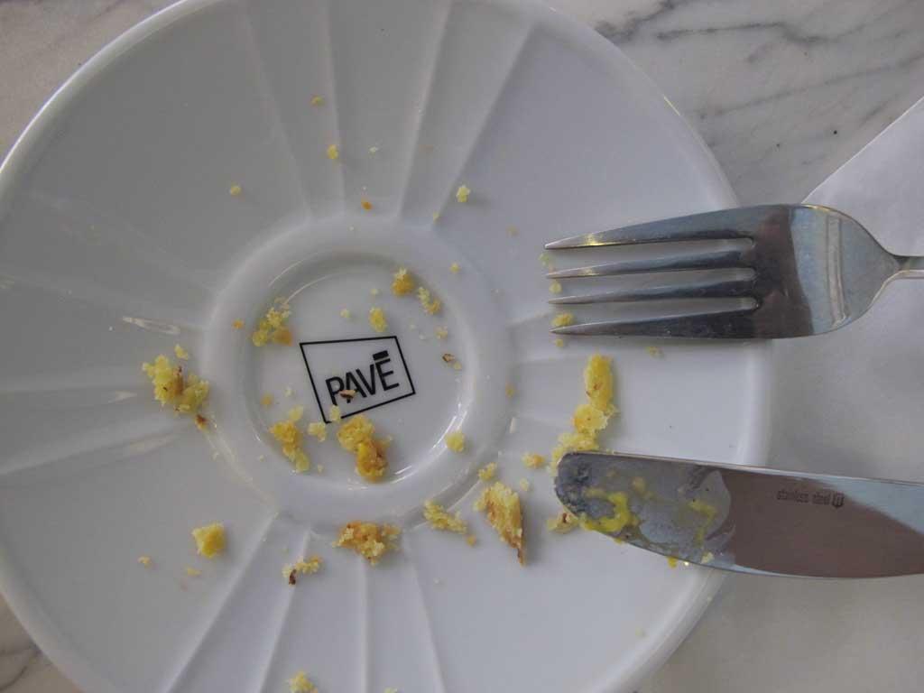 pave colazione piatto vuoto
