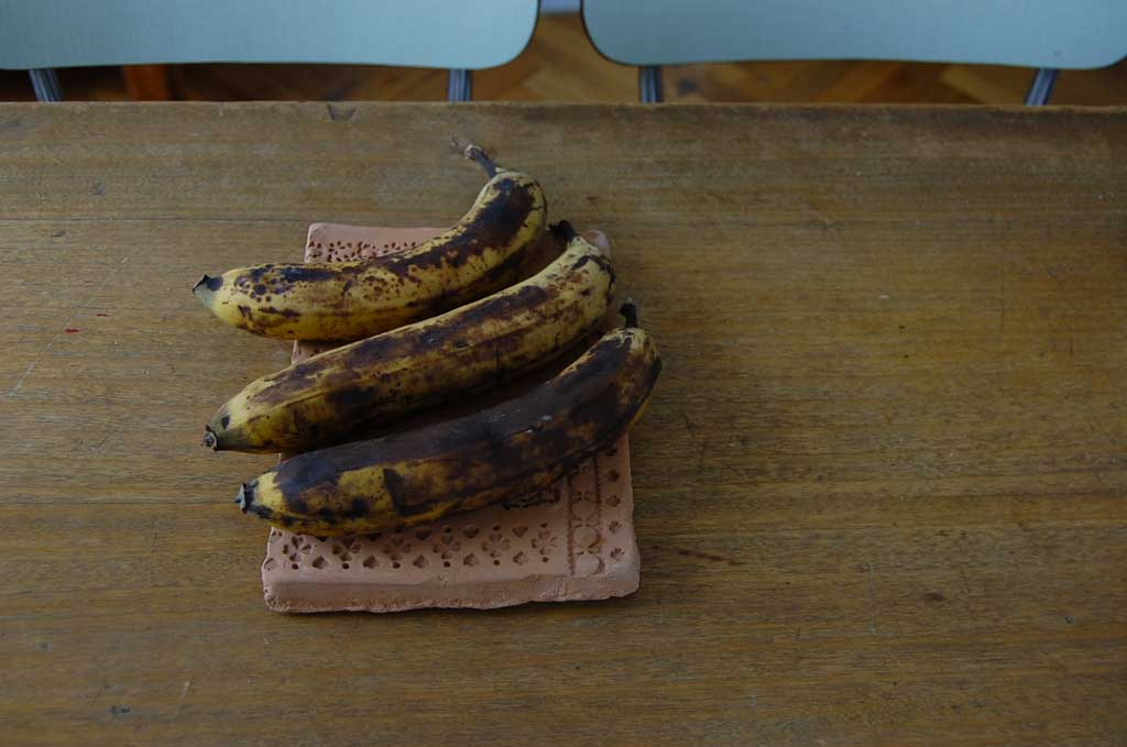banane mature per banana bread