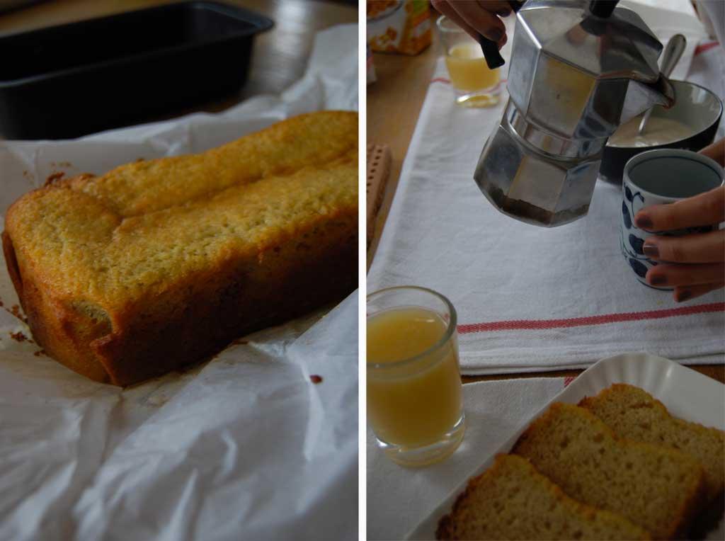 banana bread per colazione