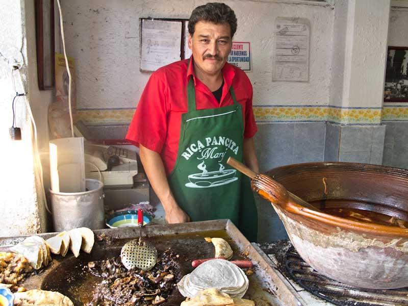 Cibo di strada tacos - Città del Messico