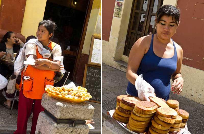 Chiapas Cibo di strada
