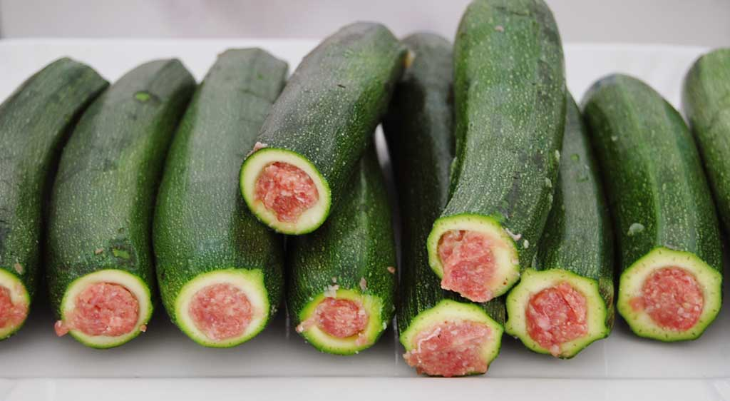 Zucchine ripiene nonsolofood