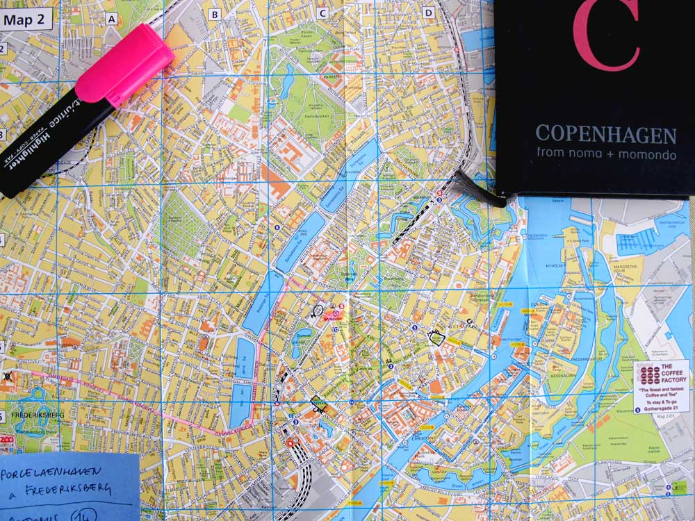 Copenhagen map nonsolofood