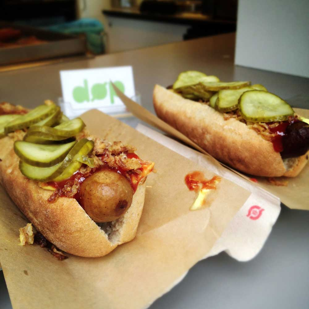 DOP hot dog