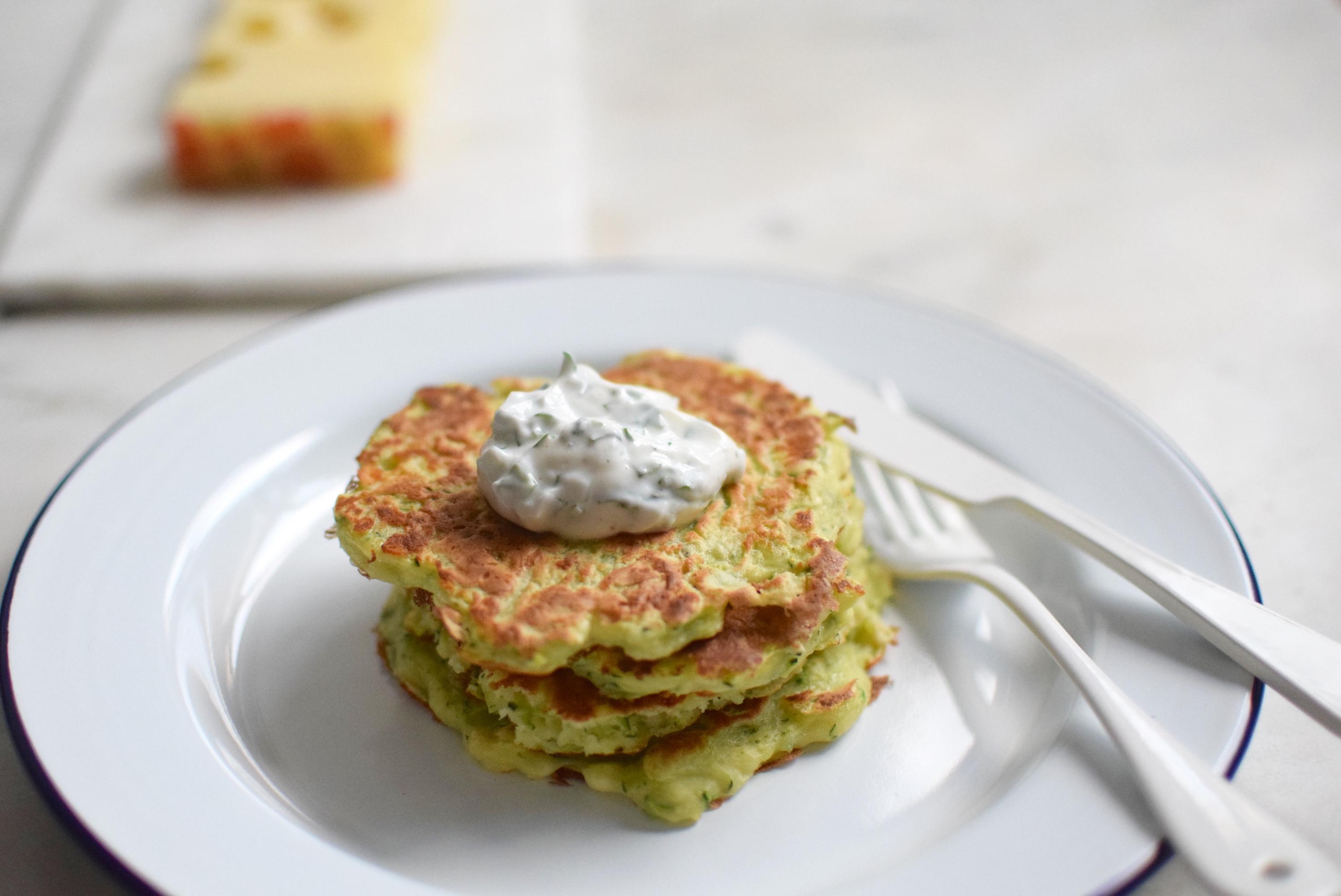 Pancake con zucchine   Emmentaler DOP