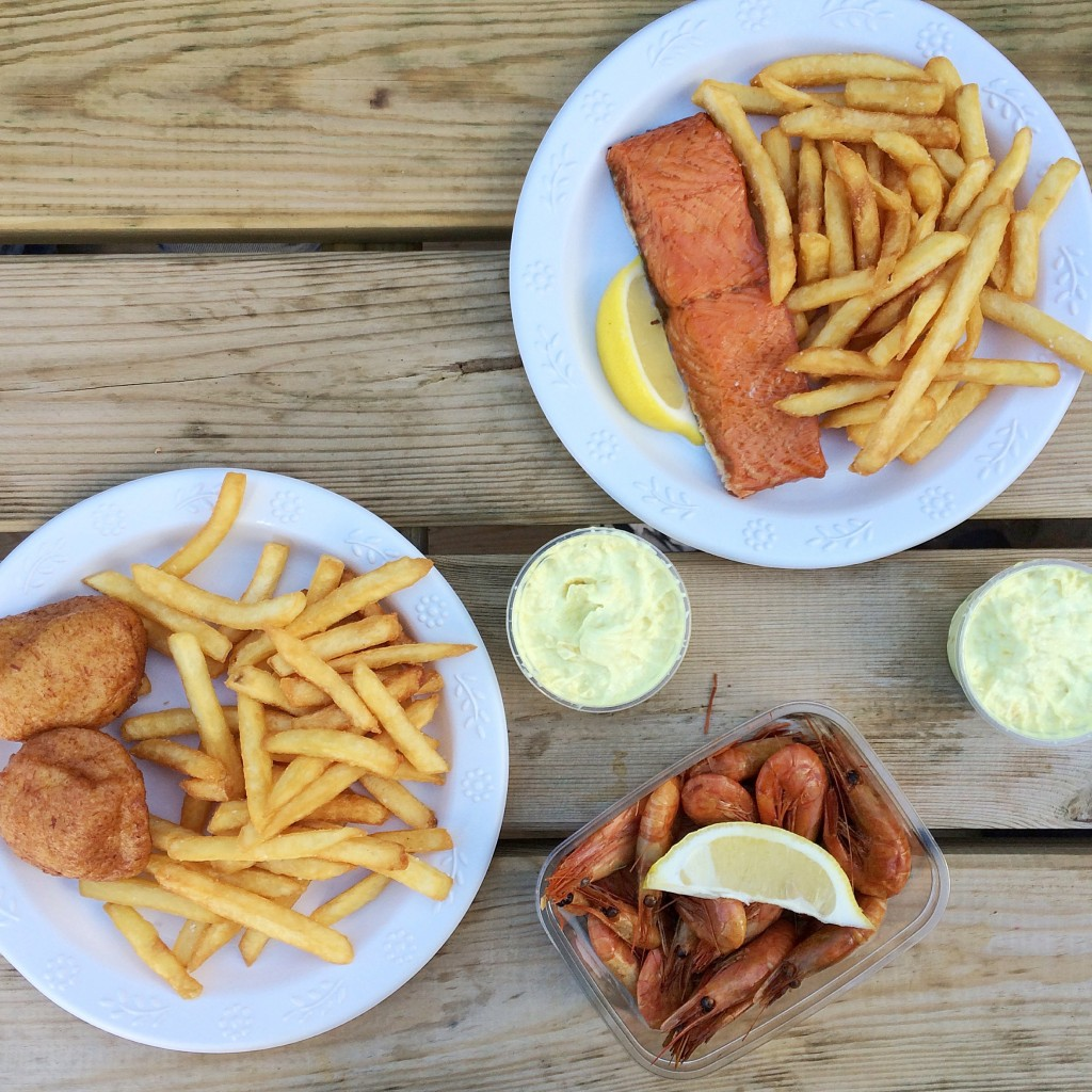 Dragør Røgeri | fish and chips | Come to Copenhagen with Nonsolofood