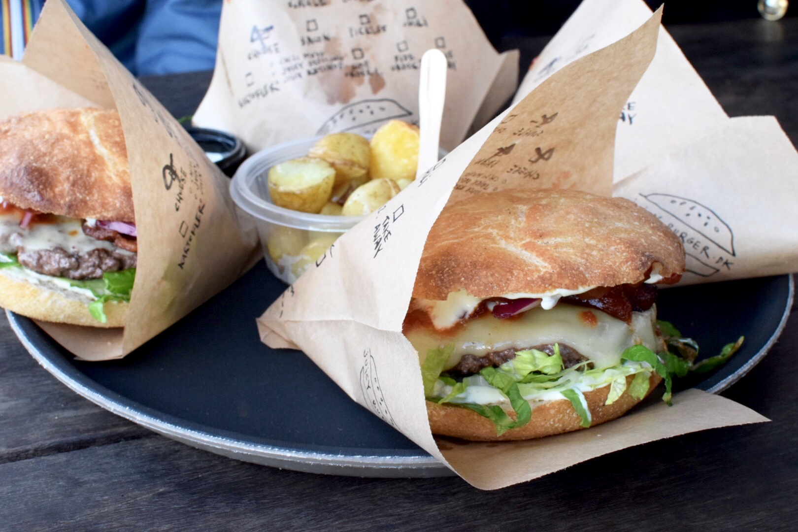 Juicy Burger | Come to Copenhagen with Nonsolofood