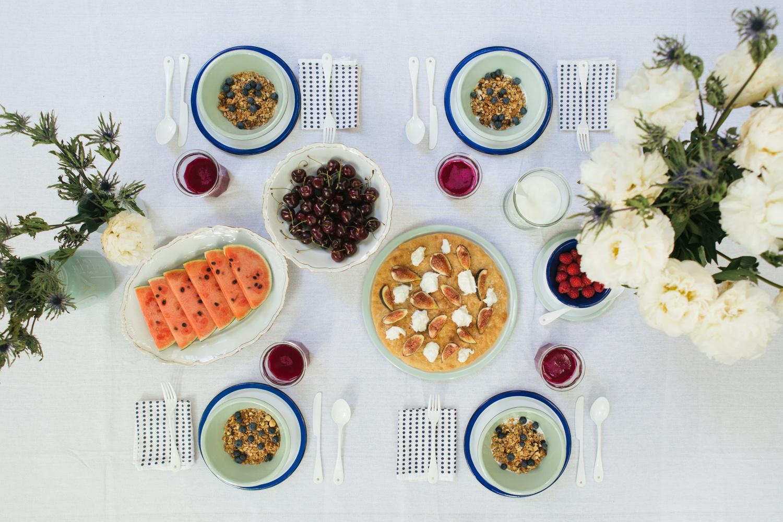 Focaccia con fichi, barrata e miele | La Colazione d'Estate con KitchenAid